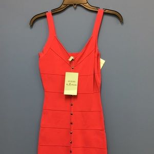 Guess by Marciano pink studded dress